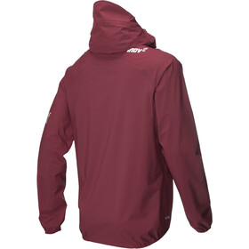 inov-8 W's AT/C Stormshell Fullzip Jacket dark red